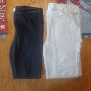 Girl's Set of 2 Stretch Pants